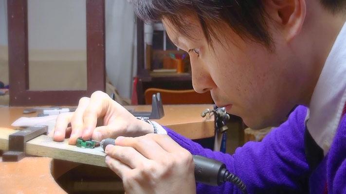 ワックスで婚約指輪の原型を自分で手作りする~工程3~