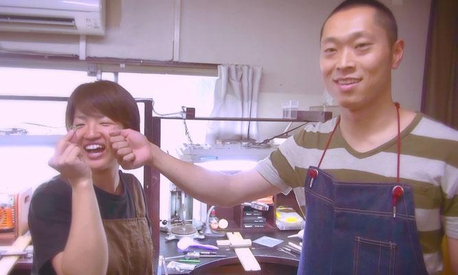 東京で手作りするふたりのマリッジリング