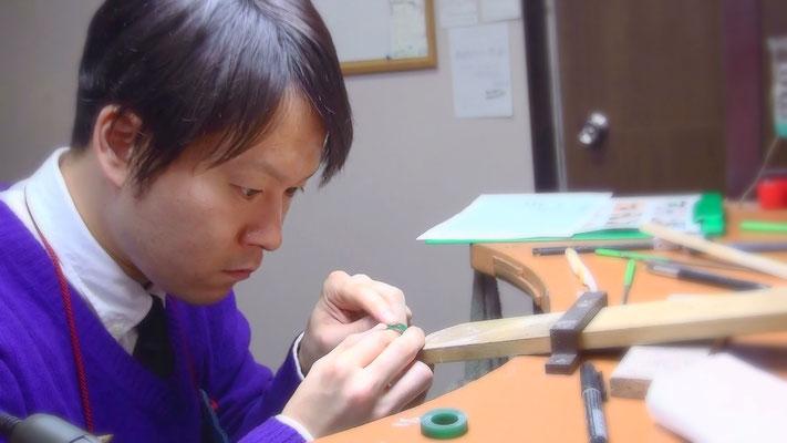 ワックスで婚約指輪の原型を自分で手作りする~工程6~