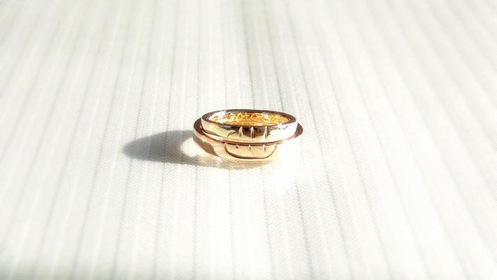 手作り結婚指輪<完成2>