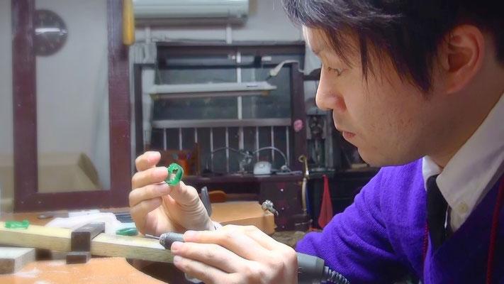 ワックスで婚約指輪の原型を自分で手作りする~工程4~