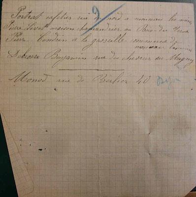 la liste des montcelliens, document 2 - source A.D. Saône-et-Loire