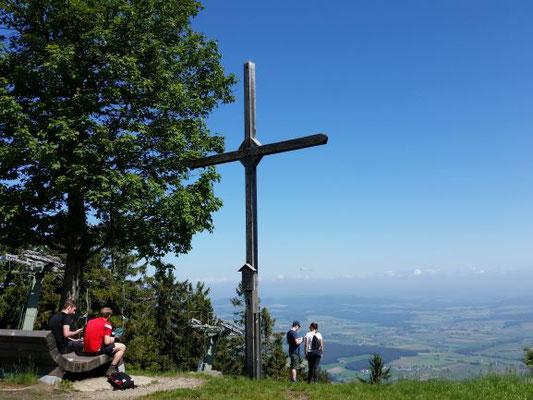 Gipfelkreuz Ahornriegel