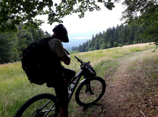 Stefan nahe Böhmerwaldturm