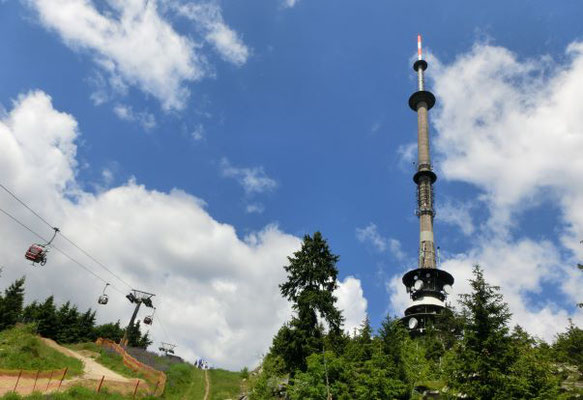 Fernsehturm am Ochsenkopf