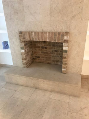 Fireplace Chamber Lining Panels - Brick Bond Solutions