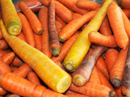 Karotten aus dem Gmüeshüsli