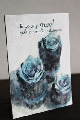 Ik wens je groot geluk in kleine dingen - € 2.95 - art. 021
