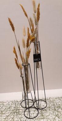 Mica-houder (h41cm) - € 19,95 - art. MICAGLAS