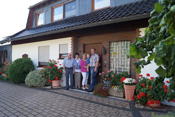 Die Gastgeber -Familie Weller