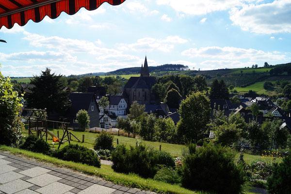Blick auf Assinghausen