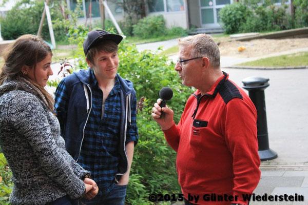 Wir bekamen Besuch von der Kinder & Jugendfarm (auch Bunter Ort). Danke das du dich zum Interview zur Verfügung gestellt hast.