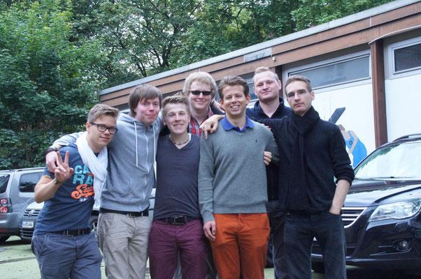 Und ein letztes Gruppenfoto bevor es losgeht zum campen. Die Vorfreude war sehr groß.