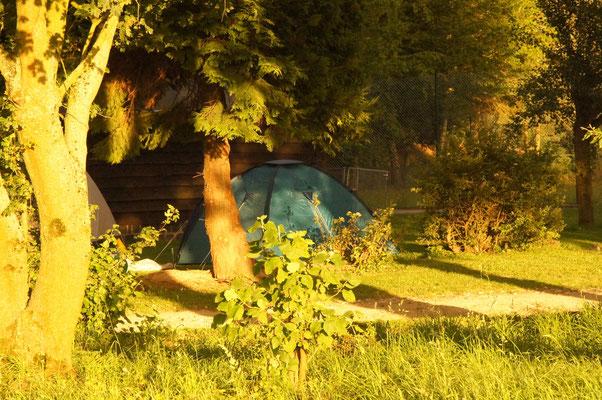 Solch eine Idylle, hier kann man sehen wie nah die Natur an uns war. Alle fanden hier Ruhe und Entspannung.