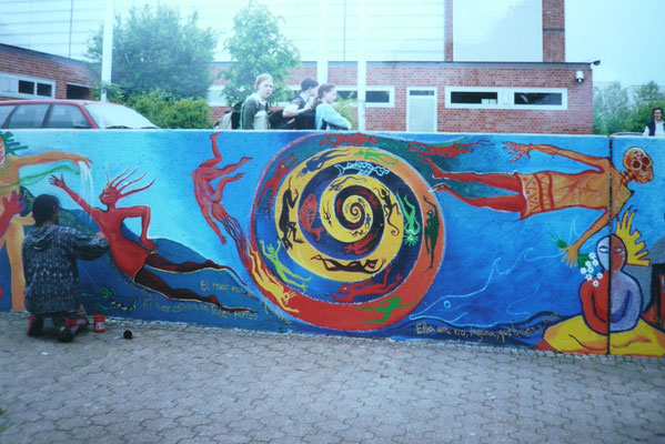 Friedensschule Münster Mural Global 2001