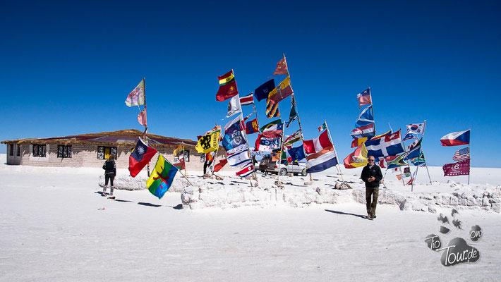 Salar de Uyuni - noch ein Salzhotel