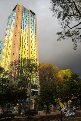 Bogotá - Stadtansichten, Gewitter im Anmarsch