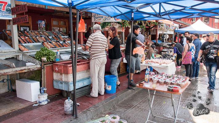 Puerto Montt Fischmarkt