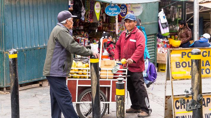 Potosí - Marktgeschehen
