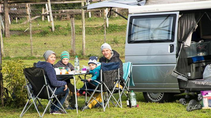 Mit Familie Schumacher den ersten Stellplatz genießen