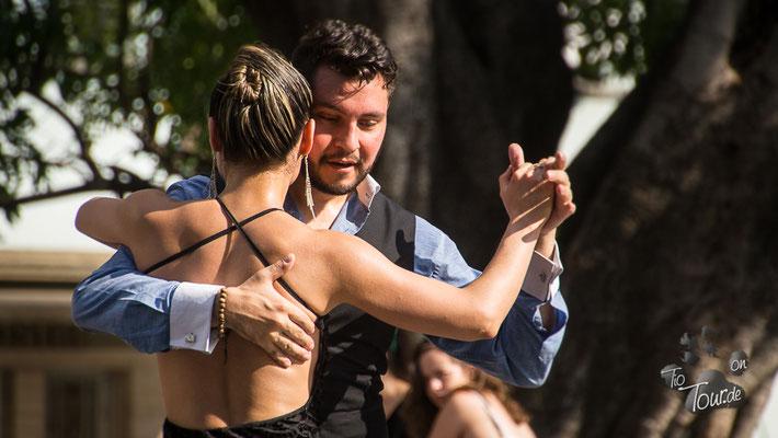Tango auf der Plaza