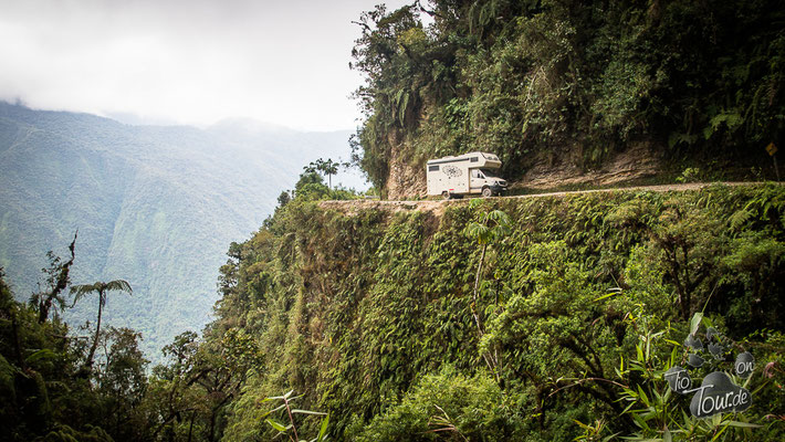 Camino de la Muerte - die gefährlichste Straße der Welt