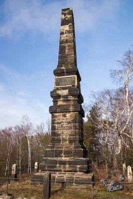 Lilienstein - Wettiner Obelisk
