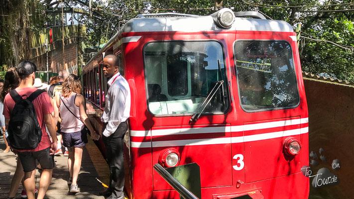 Zahnradbahn zum Corcovado