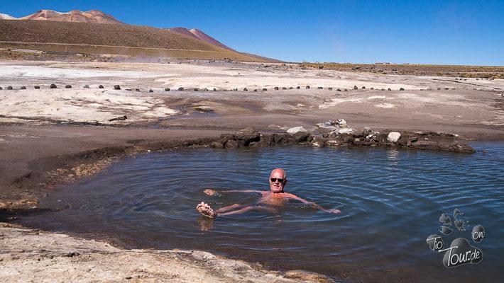 Tatio-Geysire - ein Bad im Schwefelwasser...