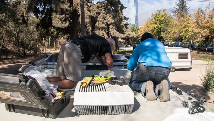Santiago de Chile - Solarmodul... die Letzte ??