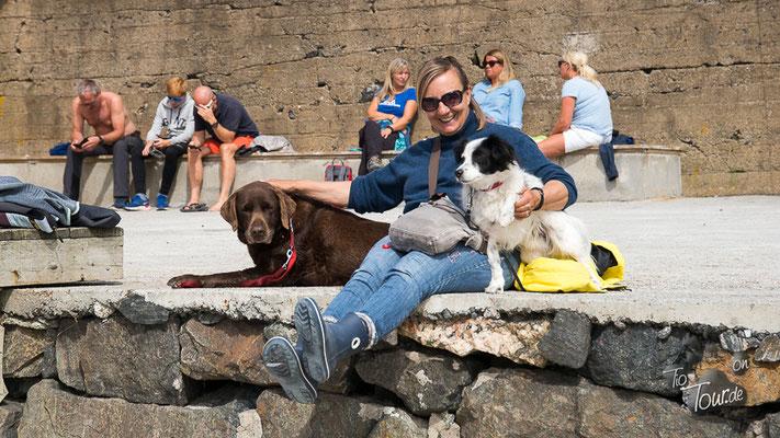 Bjørnsund - warten auf die Männer