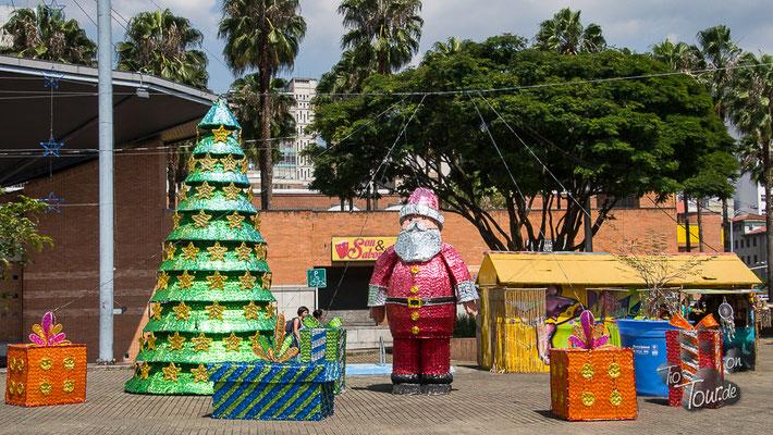 Medellin - es weihnachtet sehr...
