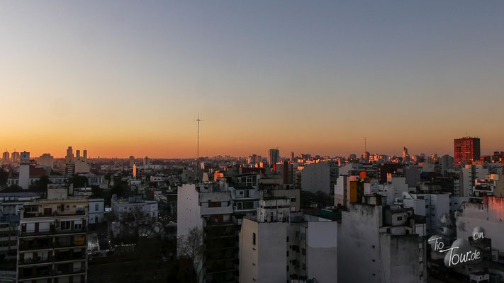 Buenos Aires am Abend