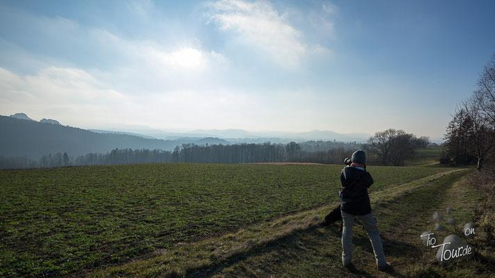 Panorama-Wanderweg von Sebnitz nach Bad Schandau