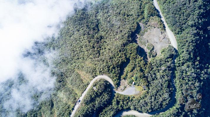 Camino de la Muerte - Drohnenansicht