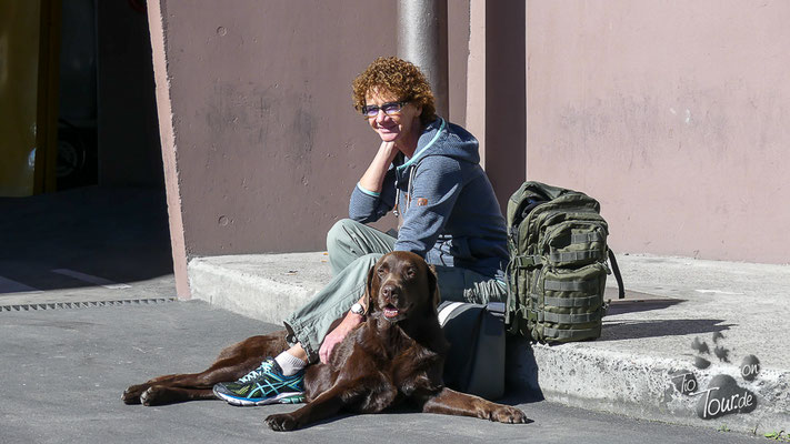 Buenos Aires - Warten auf den Buquebus