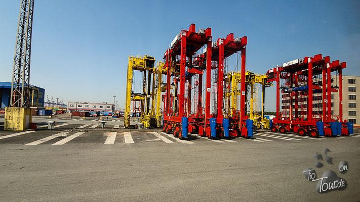 Bremerhaven Rundfahrt durch den Containerhafen