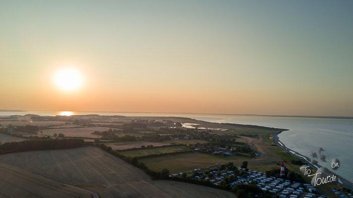 Ostseestrand - Drohnenansicht