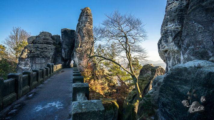 Basteifelsen - sächsische Schweiz