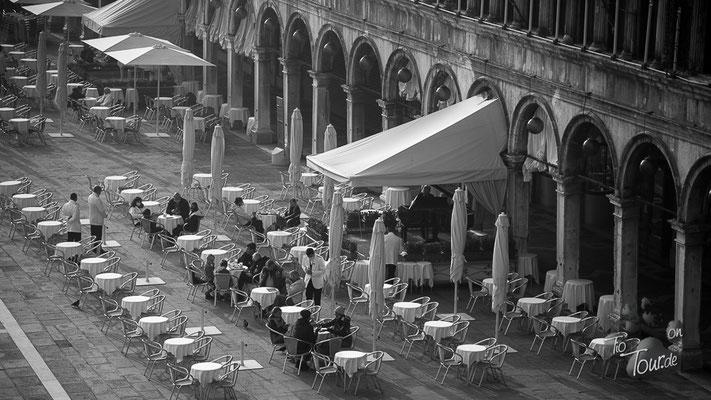 Piazza San Marco - leer, wie seit Jahrzehnten nicht mehr