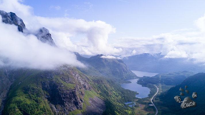 Innerfjorden - Drohnenansicht