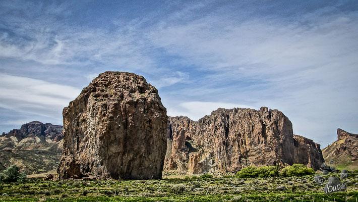 Piedra Parada 450m hoher Monolith