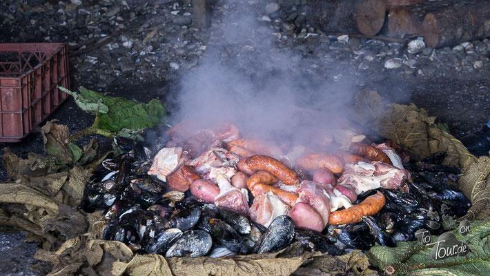 Curanto - typisch chilotische Spezialität