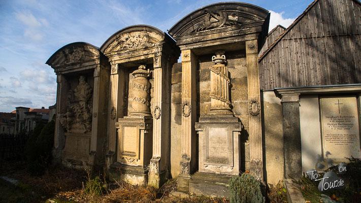 Denkmalort Obercunnersdorf - alter Friedhof