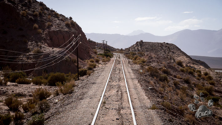 Tren a las Nubes - Strecke