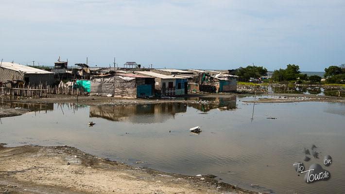 Barranquilla - ein Elend im Müll