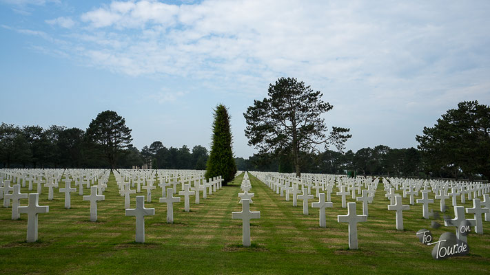 World War II Normandy American Cemetery and Memorial