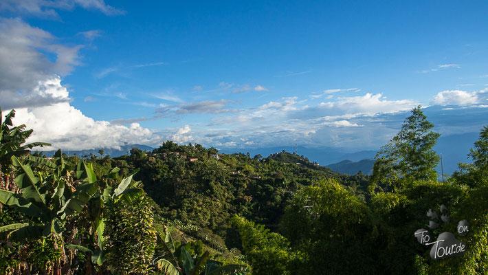 Medellin - Richtung Süden