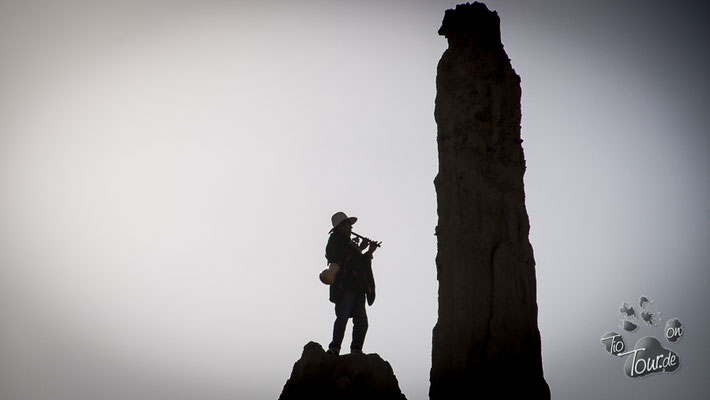 Valle de la Luna - mal Flöte, mal Planflöte