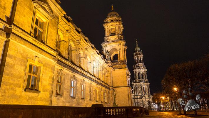 Dresden - Brühl'sche Terrassen